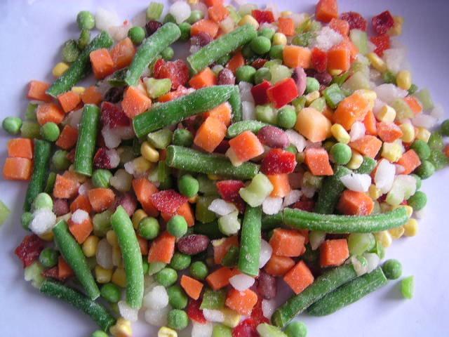 мексиканская смесь овощей