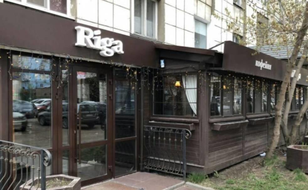 интерьер кафе рига