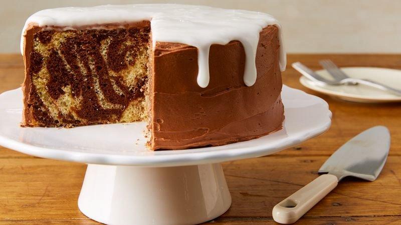 Секреты приготовления пышного пирога Зебра
