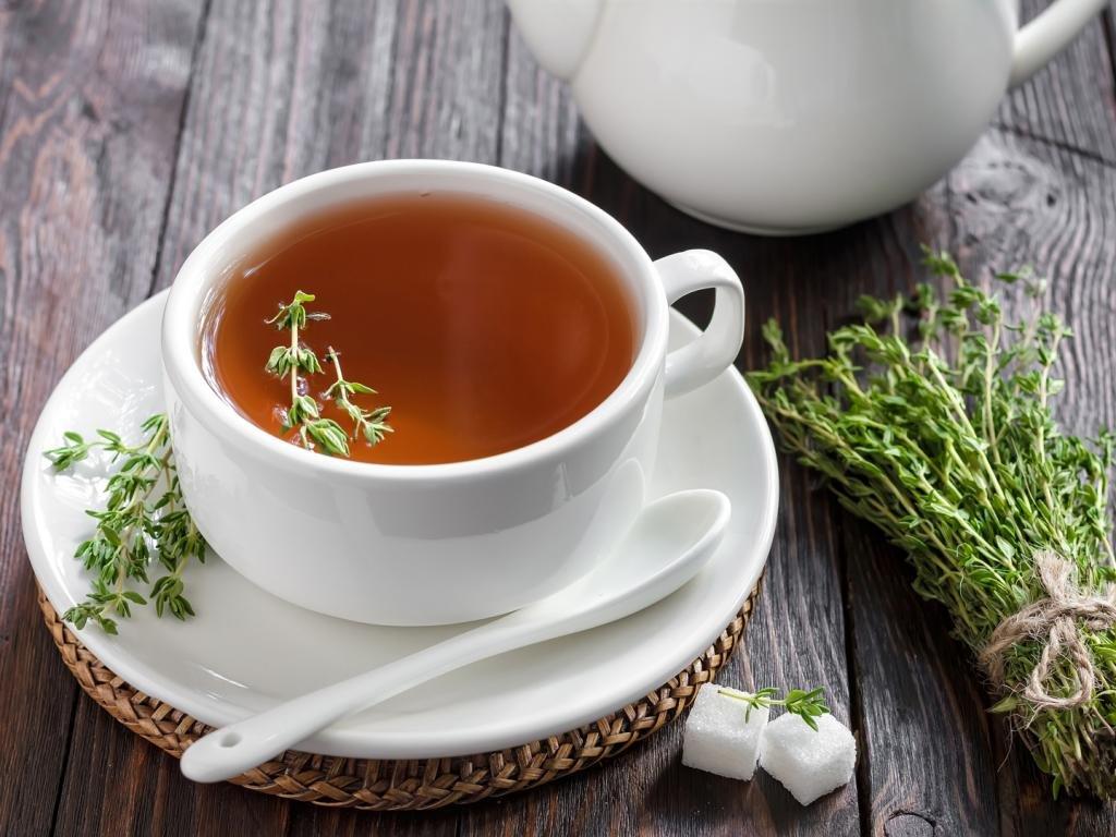 чай гринфилд с чабрецом фото