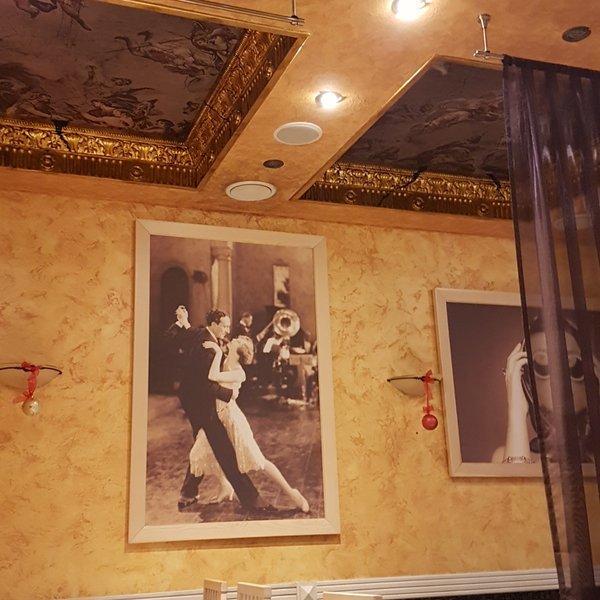 интерьеры кафе рим