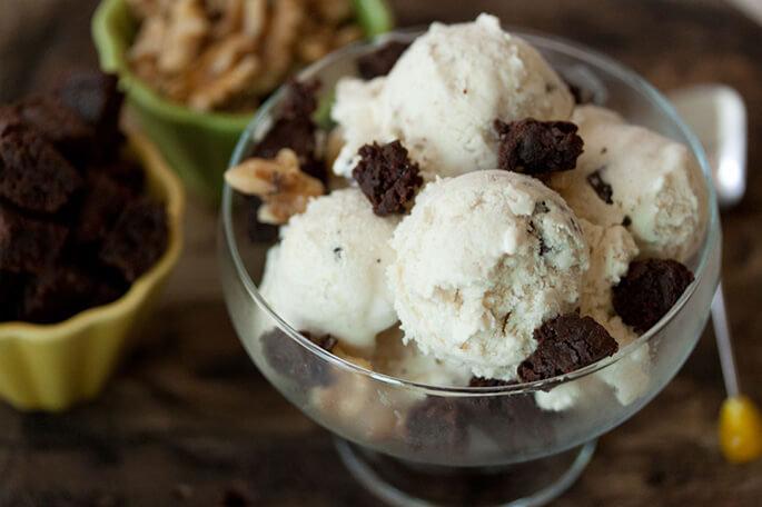 как сделать мороженое в домашних условиях из молока и сахара
