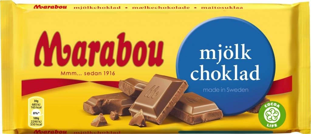 Плитка молочного шоколада