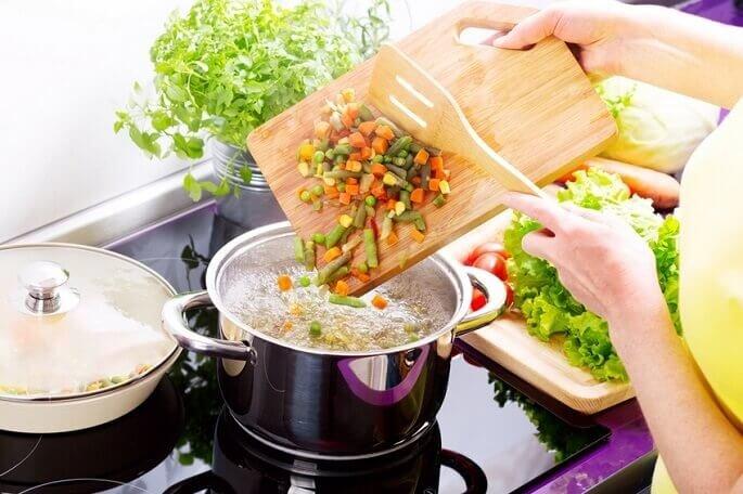 вегетарианские супы рецепты при диете 5