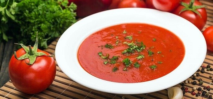 вегетарианские супы рецепты с фото