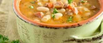 Суп с консервированной фасолью с мясом: ингредиенты, рецепт с фото