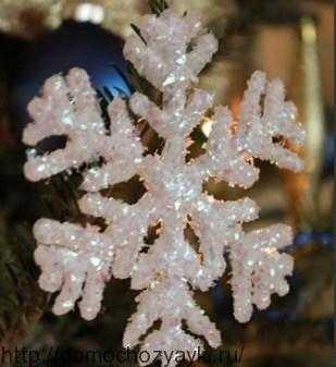 Снежинка на елку