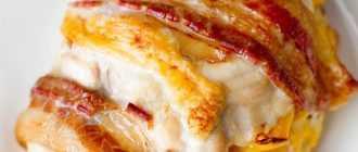 Куриная грудка фаршированная сыром