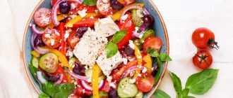 Салат с помидорами и болгарским перцем: варианты приготовления, рецепты