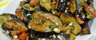 Горячий салат из баклажанов: рецепты