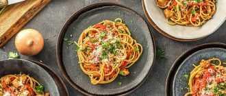 Спагетти с колбасой: вкусный и сытный ужин