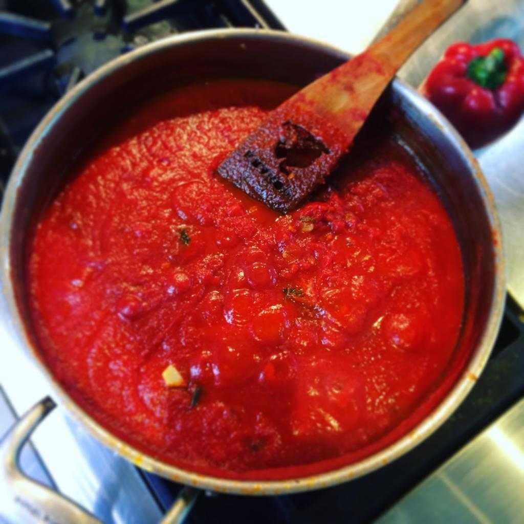 рублевском фото пошаговое приготовление соуса томатного время она