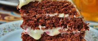 Приготовление шоколадного торта на раз, два, три