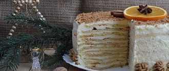 Домашний торт из творога