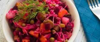 Салаты из вареной картошки: лучшие рецепты приготовления