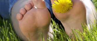 Избавиться от неприятного запаха ног.