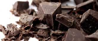 Горький шоколад без сахара: процент какао, нормы и требования ГОСТ, состав шоколада и производители