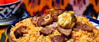 Киргизские национальные блюда: список