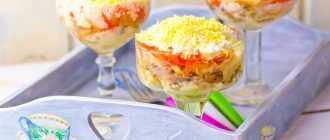"""Салат """"Мимоза"""" с картошкой и морковкой: рецепт приготовления с фото"""