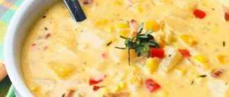 Суп-пюре из кукурузы: простые рецепты вкусного блюда