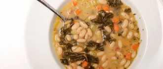 Простые рецепты фасолевого супа без мяса