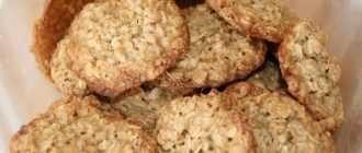 Морковное печенье с овсяными хлопьями: ингредиенты, рецепт с описанием, особенности приготовления