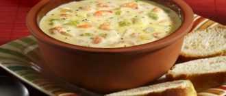 Сырный суп с морепродуктами: выбор ингредиентов и рецепт приготовления