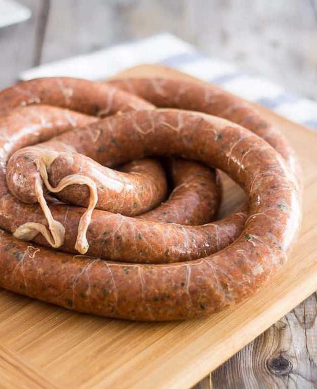 Куриная колбаса с желатином: рецепт приготовления с фото, советы и идеи