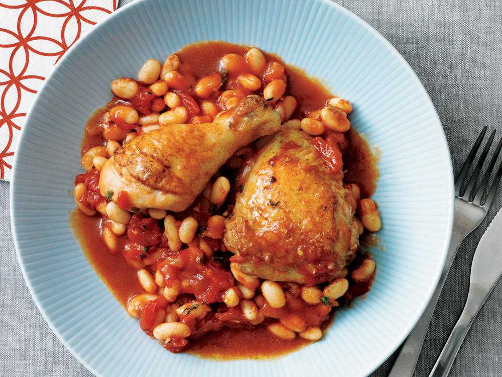 Курица с фасолью в мультиварке - базовые рецепты
