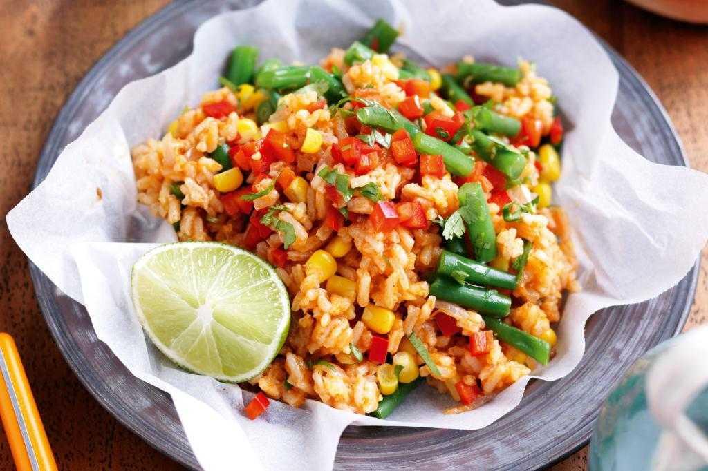 Гарнир рис с овощами: рецепт и советы по приготовлению