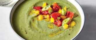 Суп из авокадо: рецепты приготовления с фото
