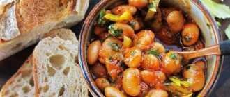 Салат из фасоли в томатном соусе: рецепт, порядок приготовления
