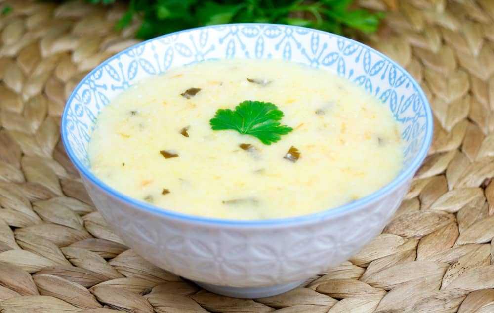 Молочный суп с вермишелью: калорийность, ингредиенты и способ приготовления