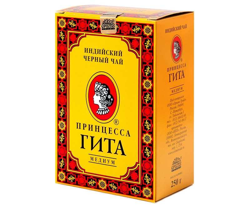 """Чай """"Принцесса Гита"""": описание и отзывы"""