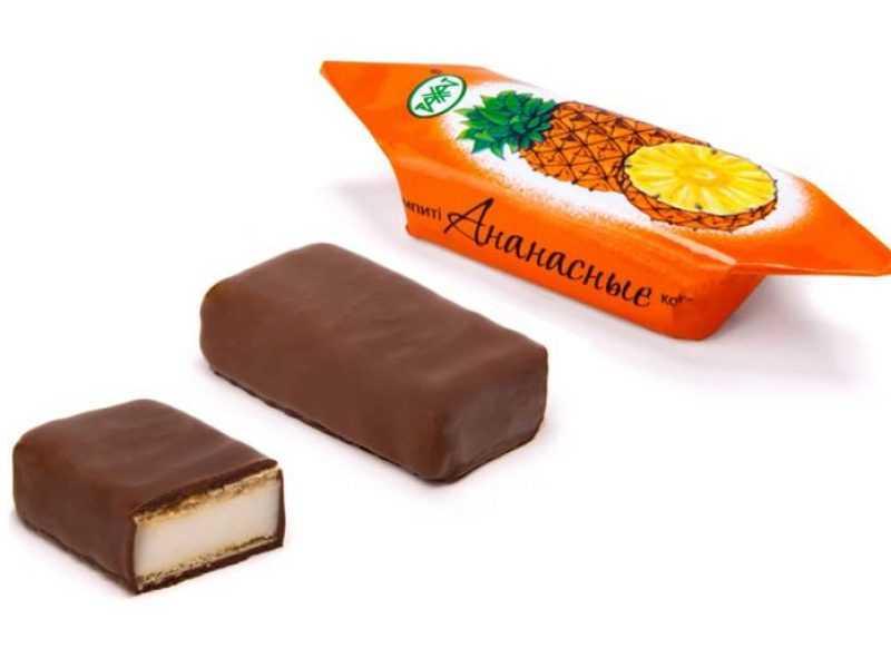 Ананасные конфеты: состав, свойства, отзывы покупателей