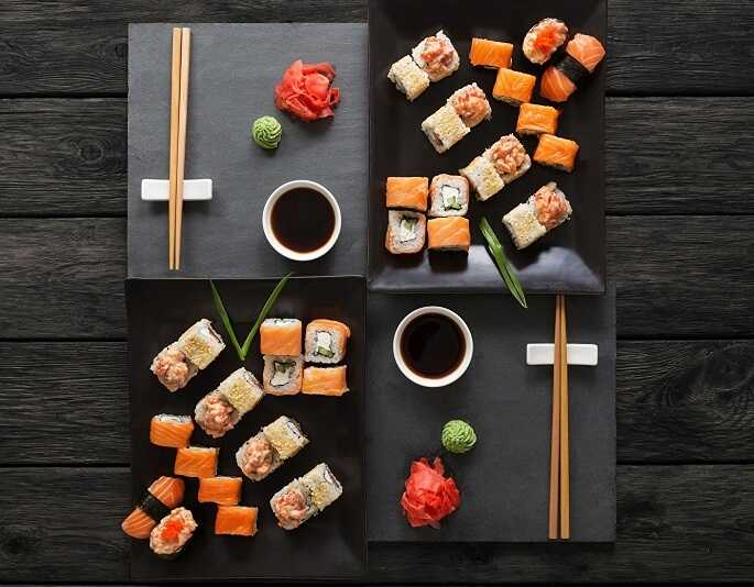 Японские блюда — рецепты в домашних условиях