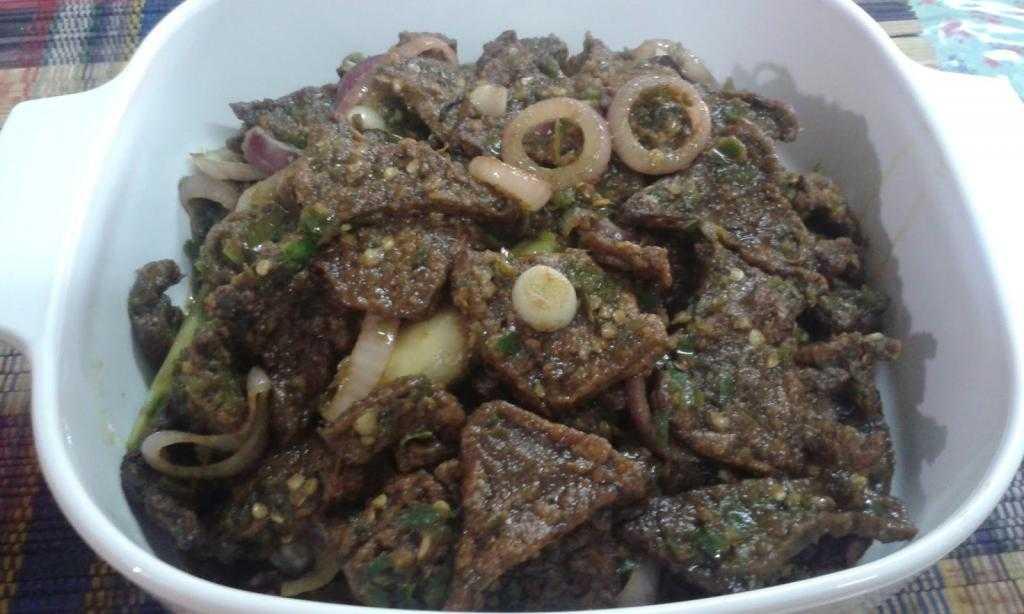 Калорийность говяжьего легкого, состав и способ приготовления