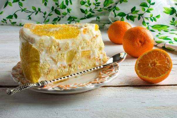 """Торт """"Экзотика"""": рецепт, ингредиенты, фото"""