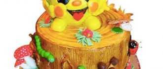 """Торт """"Колобок"""": пошаговый рецепт"""