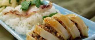 Кальмар, фаршированный рисом и овощами: рецепт и способы приготовления