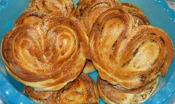 Плюшки сахарные: рецепт с пошаговым описанием и фото