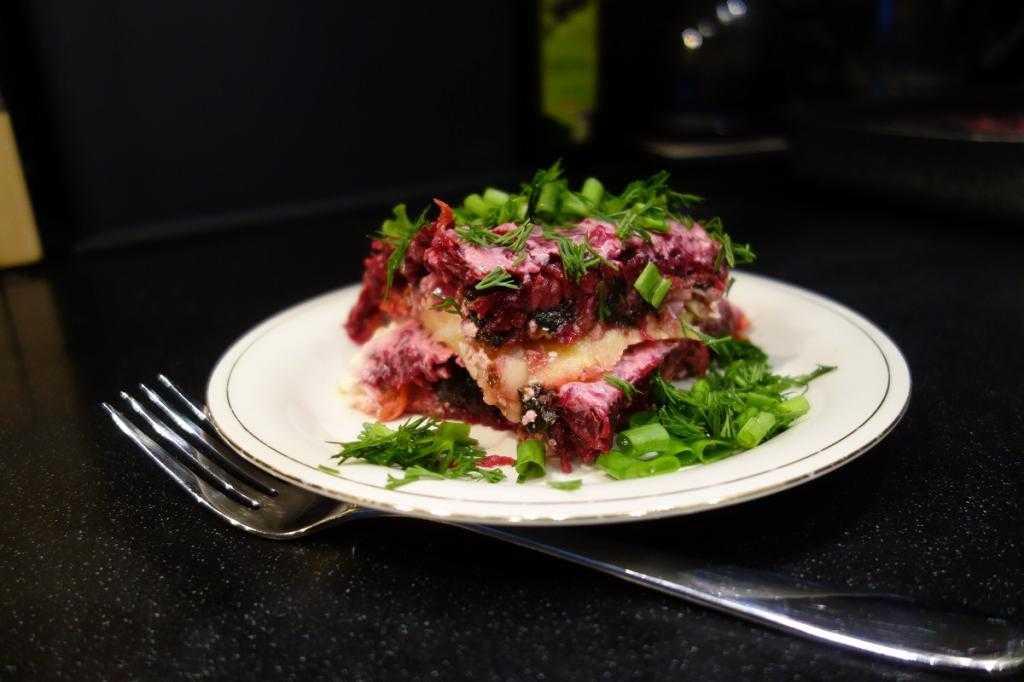 Вегетарианские блюда на праздничный стол
