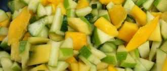 Салат с яблоками и огурцами: рецепты, варианты заправки и советы по приготовлению