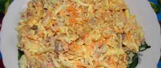 Салат смешанный: пошаговый рецепт приготовления