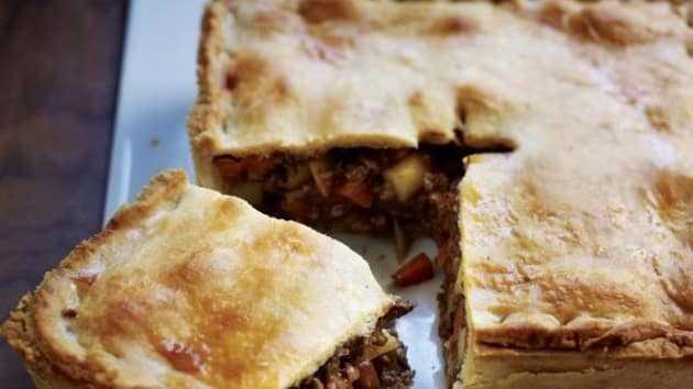 Рецепт теста для пирога с мясом и картошкой