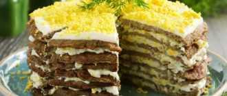 Печеночный торт без молока: ингредиенты, рецепт, советы по приготовлению