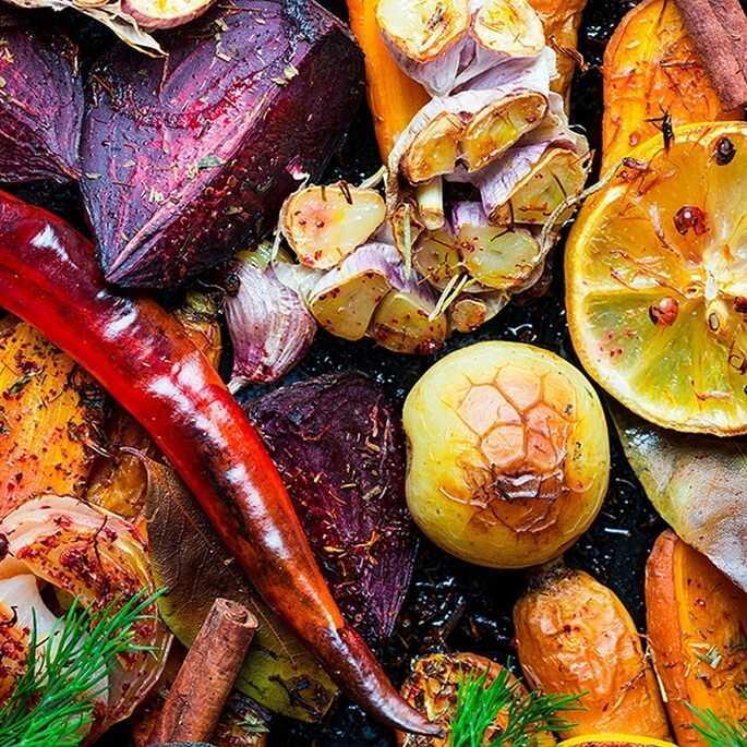 Запеченные овощи в духовке — рецепт с фото