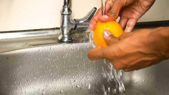 Как с апельсина снять цедру в домашних условиях