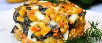 Салат из сладкой кукурузы: множество рецептов, ингредиенты и советы по приготовлению