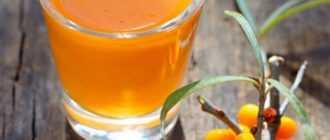 Чай с облепихой и имбирем: рецепт приготовления с фото